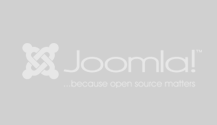 We build our websites with Joomla