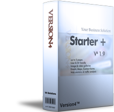 Website package: Starter + 1.9