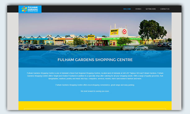 website design example - fg-shoppingcentre